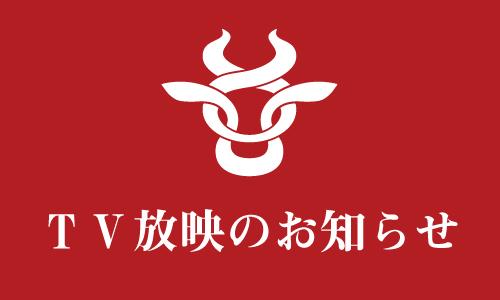 TV放映のお知らせ